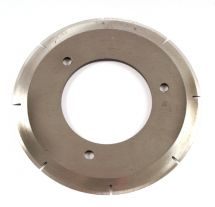 CIRCULAR BLADE SLOTTED 90mm DOUBLE BEVEL